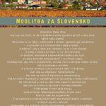 Modlitba za Slovensko a piatkový pôst za odvrátenie pandémie koronavírusu